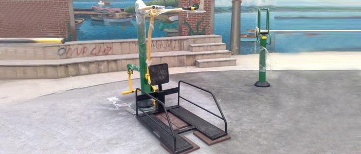 Engelli park spor aletleri